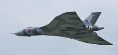 XH558 (Grand-Poobar) Tags: sky up outside outdoors one flying doors skies open force power looking outdoor aviation military air transport flight wing royal delta camouflage single weapon transportation underside vulcan underneath bomb bomber strategic powerful cloudscape raf avro camouflaged aeronautical subsonic