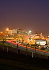 Britcar into the night. Lights. (motorsportimagesbyghp) Tags: lighttrails motorsport brandshatch intothenight britcar kentnighttime