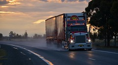 Thompsons B/Double (quarterdeck888) Tags: flickr transport trucks thompsons sar kenworth haulage quarterdeck t408 worldtruck jerilderietrucks