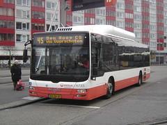 "Leiden: MAN Lion's City ""Veolia"" (harry_nl) Tags: man bus netherlands station leiden nederland 45 2012 voorschoten denhaagcs veolia 6735 bxdb30"