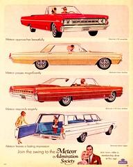1966 Meteor Montcalm Models (aldenjewell) Tags: canada hardtop station wagon ad convertible 1966 meteor 2door 4door montcalm s33