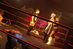 03-28-12 Wrestling with Pop Culture Annv Party @ Masquerade D2 135 (Danielle Boise) Tags: music championship wrestling bodypainting monstrosity atlantageorgia themasquerade thesexualsideeffects monsterwrestling ambertaylor neonarmour deathisadialogue wrestlingwithpopcultureanniversaryparty