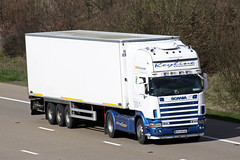 Scania 164L 04-LM-741 (gylesnikki) Tags: ireland white artic keylinetransport