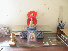 India personal shrine at Mahavihara 2