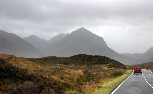 Driving towards Torridon via Applecross