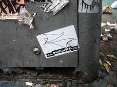 o v e r u n d e r - t r a s h e d (setlasmon) Tags: new york nyc streetart eastvillage newyork photography graffiti seth garbage sticker photos ev walkabout photoediting rwk trashed newyorkers robotswillkill overunder artart twitter rareform setlasmon sethalexanderlassman sethlassman setalexandor