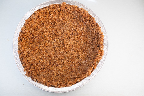 Frozen Choconut Pie crust