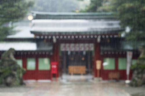 Focus on the rain by keganimushi