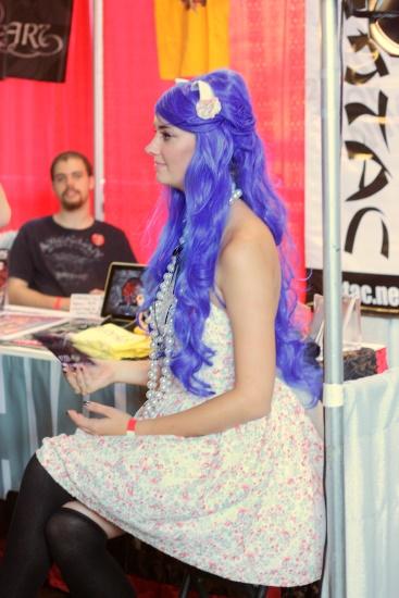 JapanFest - Blue hair