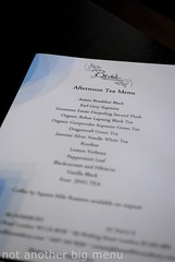 Bea's of Bloomsbury - Full Afternoon Tea £15 pperson menu