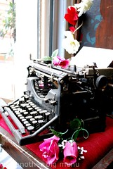 Bea's of Bloomsbury, London - Vintage typewriter