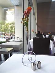 The Modern - Table decor (Cheeryvisage) Tags: nyc newyorkcity food ny newyork lunch restaurant lucy manhattan moma museumofmodernart alsatian themodern dannymeyer themuseumofmodernart themoderndiningroom gabrielkreuther