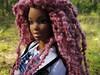 Maitreyi (Alrunia) Tags: dreadlocks toy doll nikki ooak barbie yarn christie asha dreads fashiondoll mattel aa shani reroot caligirl restyle 16thscale playscale