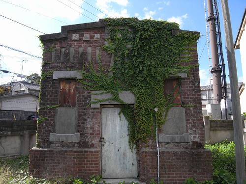 旧奈良市水道計量器室@奈良坂-03