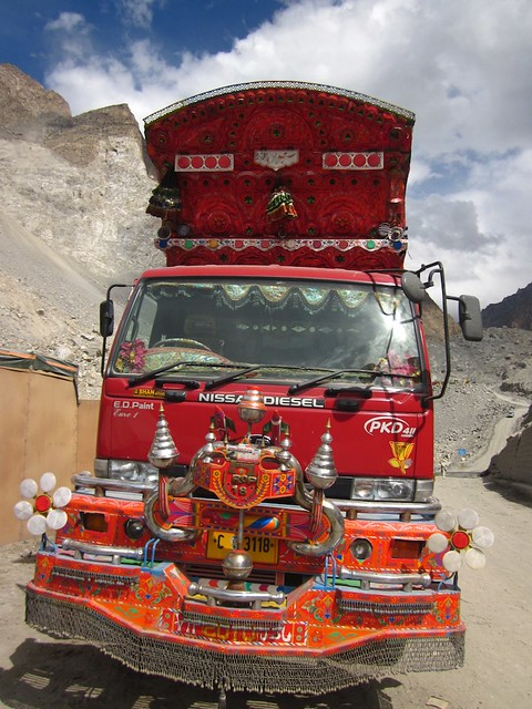 Pakistani truck.