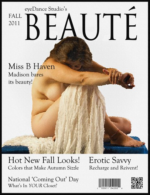 Beauté Magazine Cover