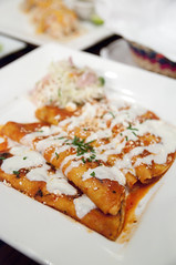 Enchiladas Rojas, Mexico DF, San Francisco