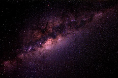 Patience II - The Milky Way (Explored #3) (Luke Peterson Photography) Tags: light start canon dark flat tripod astro stack galaxy astrophotography processing galaxies colourful 1740mm milkyway wilky maximdl maxdslr