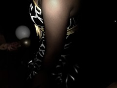 accidental shot. (nicolettee.) Tags: birthday friends party yellow dance dress teens bow shatter edit sweet16 blackgirls