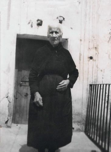 Bonifacia Urzaiz, abuela paterna de Javier Aranda