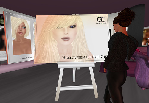 Adam n Eve Ghostly Halloween Skin Group Gift by Cherokeeh Asteria