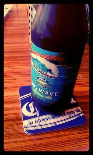 ハワイビールでエールタイプのは初めて見た