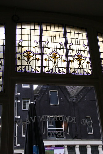amsterdams - cafe window