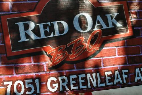 red oak bbq