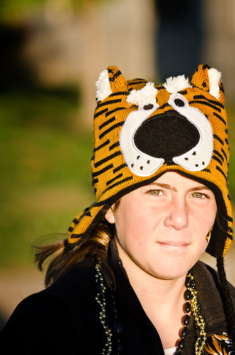 Homecoming 2011 - Tiger eyes