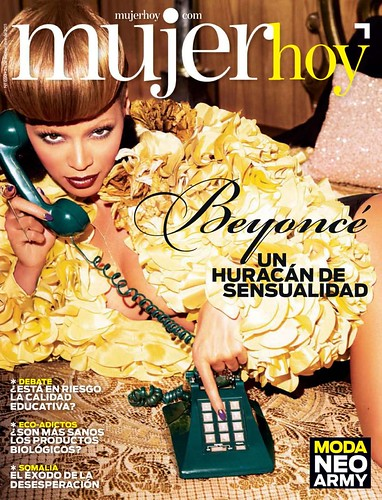 Beyonce Mujer Hoy Magazine pictures