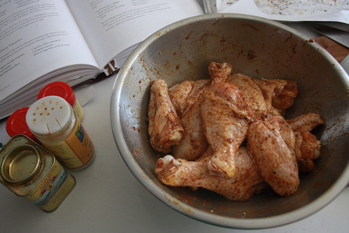 peppery chicken wings