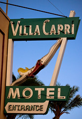 Villa Capri Motel (TooMuchFire) Tags: signs vintage typography neon sandiego signage coronado neonsigns motels midcentury lightroom oldsigns villacapri vintagesigns canon30d motelsigns signporn divinglady oldmotelsigns oldneonsigns villacaprimotel neonmotelsigns neondiver toomuchfire neondivinglady
