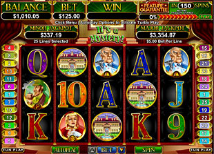 It's a Mystery slot game online review