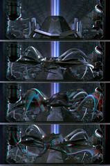 T 1000000 Terminator Encounters in the Third Dimension 3D Scene: Terminator 2 3-D T-1000000 ...
