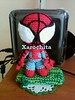 sack spiderman by xarochita (Xarochita) Tags: spider crochet spiderman sack amigurumi ganchillo sackboy