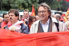 FIAT e Fincantieri insieme in piazza-09 (CGIL Nazionale) Tags: manifestazione sciopero cgil lavoratori fiom sindacato
