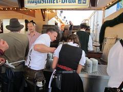 2011 Germany - Oide Wiesn - Augustiner Bräu Festzelt Tradition (murphman61) Tags: germany münchen deutschland oktoberfest stein keg halle octoberfest wiesn krug festhalle