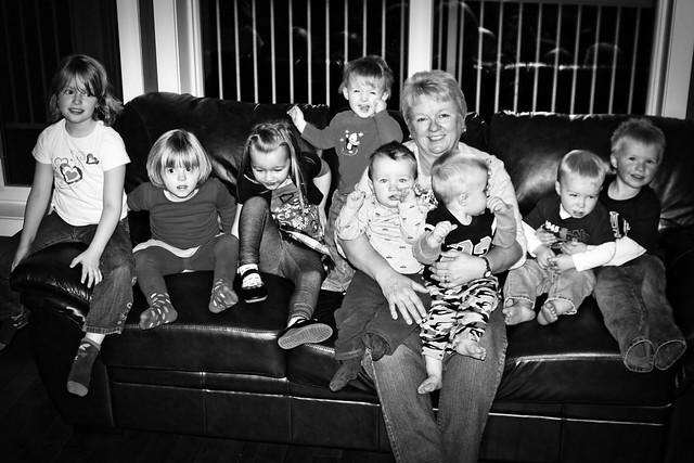 Grandma & Her Babies
