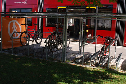 Innsbruck cycle parking