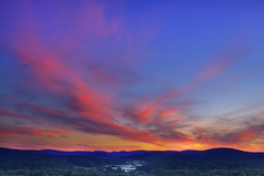 Blue Hills (Moniza*) Tags: sunset mountain newyork sunrise twilight nikon dusk bearmountain explore valley d90 explored moniza landscapeexhibition photographerschoice~halloffame