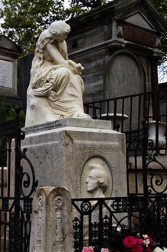 Pere LaChaise Cemetery Chopin