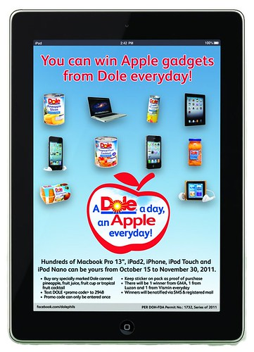 A Flyer 2DOLE A Day, An Apple Everday Flyer 1