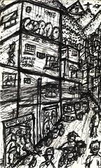 Rocinha 2 (LDRAO) Tags: street brazil streets home brasil riodejaneiro armas tráfico funk casas favela morro baile slum rocinha roça ruas motos morros zonasul sãoconrado habitação barracos gueto moradias
