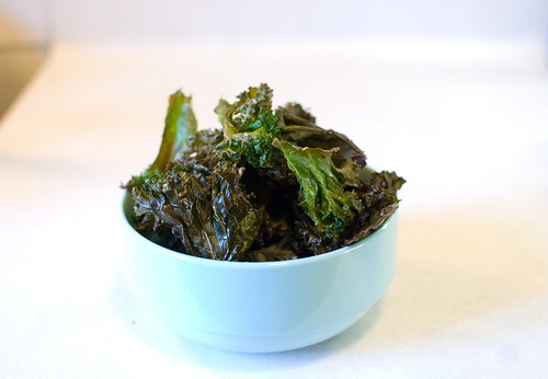 Beautiful and delicious kale chips