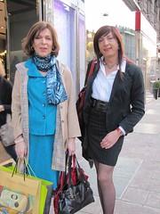 With Anouk in Milan Corso Buenos Aires (Alessia Cross) Tags: tgirl transgender transvestite crossdresser travestito