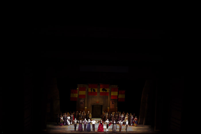 Carmen Opera Cast.