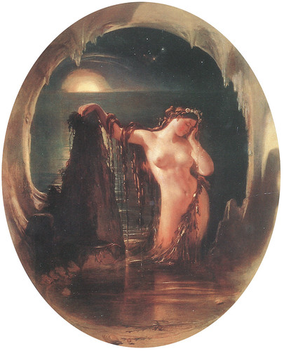 "Daniel Maclise (1806-1870), ""The Origin of the Harp"" by sofi01"