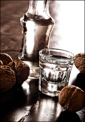 ' ...  / cheers (Christos Tsoumplekas (Back again!)) Tags: drink traditional nuts walnuts crete cheers raki tsipouro tsikoudia