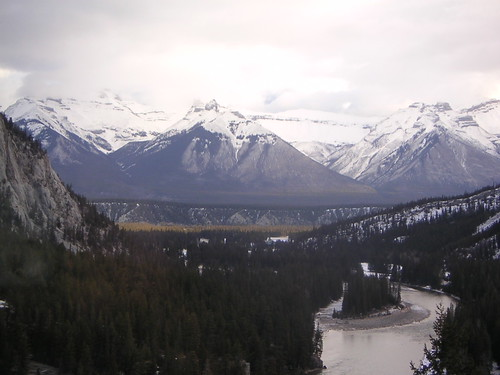 View From My room at Banff Springs