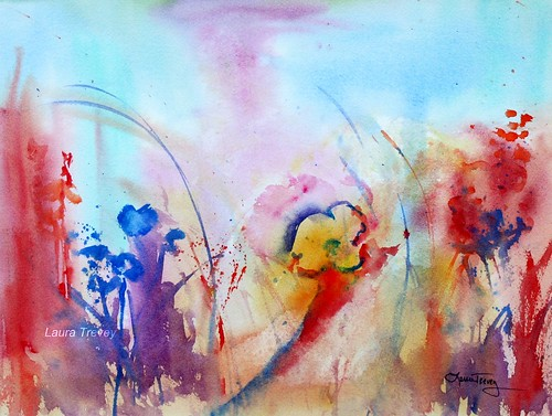 Wildflowers in Watercolor
